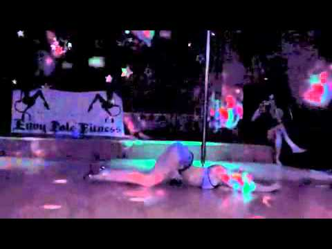Adr13nne Pole Floor & Exotic Dance.  Club & Stripper Style video