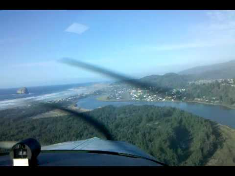 Approach & Landing RWY 32 Pacific City, OR (KPFC)