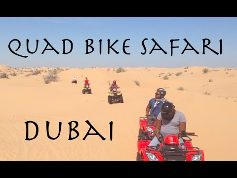 Quad Bike Safari Dubai