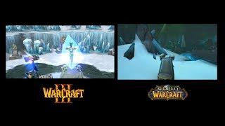 Места из Warcraft III в World of Warcraft (Кампания Альянса)