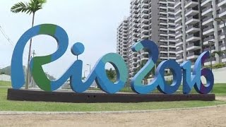 Inside the Olympic athletic village