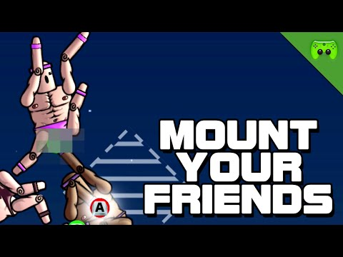 MOUNT YOUR FRIENDS # 4 - Autsch! «» Let's Play Mount Your Friends | HD