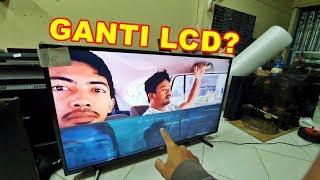 Jangan Dulu Ganti #LCD #TV  LED Kalau Rusak VLOG137