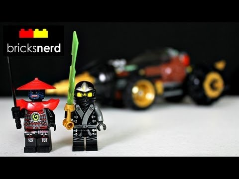 LEGO Ninjago Cole's Earth Driller 70502 Review