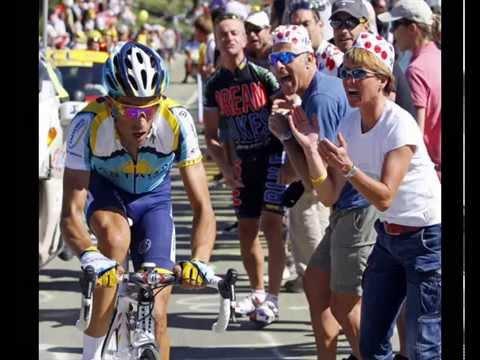 Alberto Contador VS Lance Armstrong Tour de Francia 2009 Velo d´Or