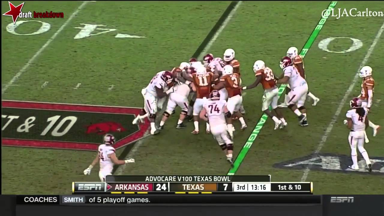Malcom Brown vs Arkansas (2014)