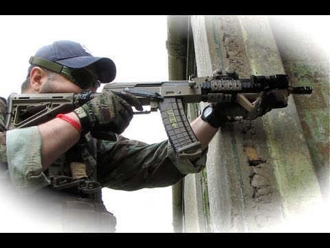 Airsoft War  KWA MP9, Echo1 SOG-68  Crail, Scotland