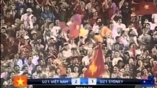 Penalty U21 Vietnam 4 - 1 U21 Sydney (Australia) Chung kết - Việt Nam Vô địch