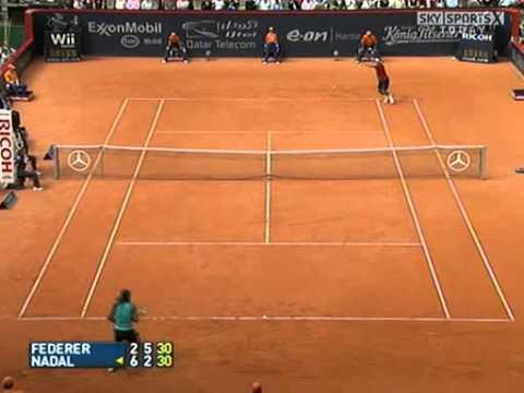 Roger Federer vs Rafael Nadal -- Hamburg 2007 Final Highlights