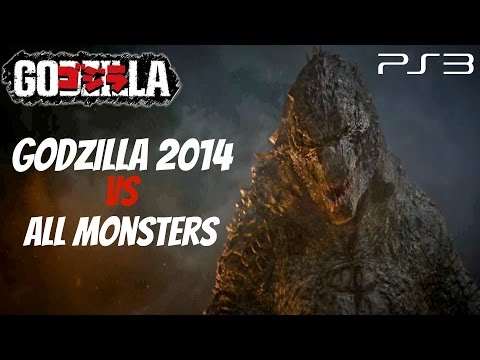 Godzilla The Game - Godzilla 2014 Vs. All Monsters [1440p Hd] video