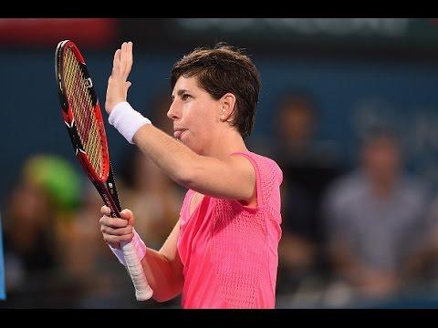 2016 Brisbane International Quarterfinal | Carla Suarez Navarro vs Lepchenko | WTA Highlights