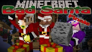 Minecraft: Bad Santa Finale w/Kkcomics - Santa Free For All (Custom map by Podcrash)