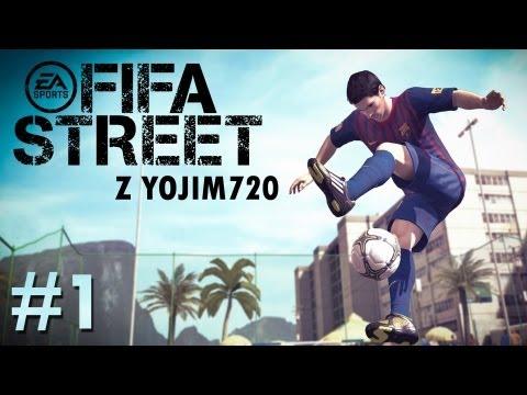#1 Zagrajmy w FIFA STREET Tryb 5 A SIDE oraz Panna Rules XBOX 360 PL
