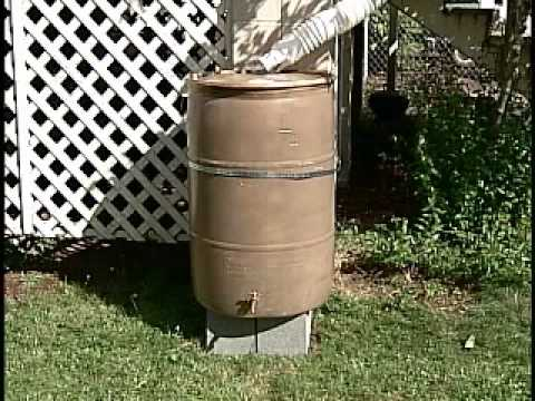 how do you hook up a rain barrel But you need to do more than get the water out of the barrel you need pressure to move the water efficiently through the tubes and push it out through the drip emitters that requires another 45 feet of elevation so add your rain barrel height to the elevation needed to power the drip system 5 + 45 = 50 feet so you want a pump with the capacity to move 15gph of water and lift it 50 feet.