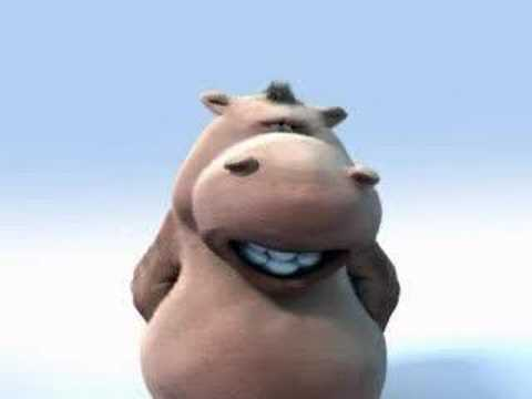 Funny Hippo Sings A Song video