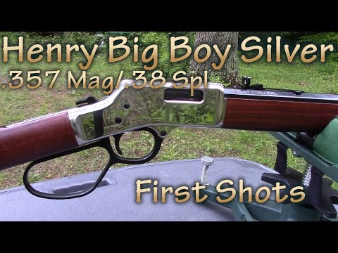 Henry Big Boy Silver .357 Magnum/.38 Special - First Shots