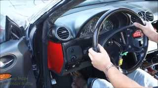 How to Install Steering Angle Sensor   Clock Spring   Contact Spiral CLK Mercedes   W209   C209