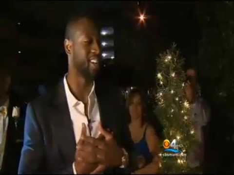 Heat star Dwyane Wade Surprises Coral Gables Teen At Prom