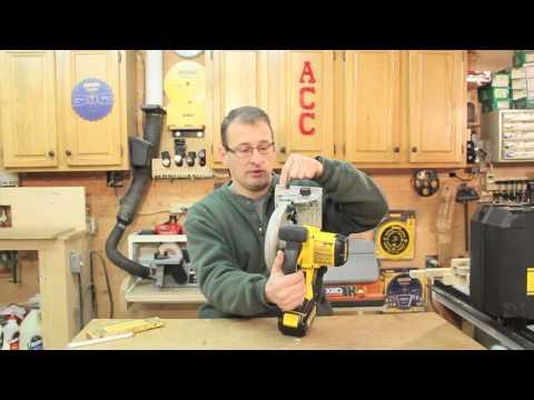 DEWALT DCS931 Cordless 20 Volt Circular Saw