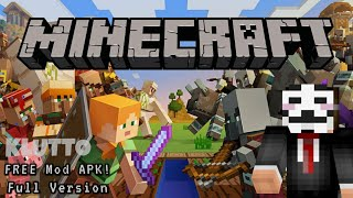 [UPDATED 1.14] Get Minecraft For FREE On Android Mobile FULL VERSION [Mod APK]