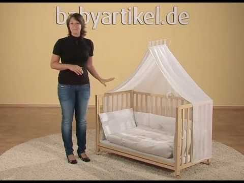 roba roombed beistellbett 3in1 youtube. Black Bedroom Furniture Sets. Home Design Ideas
