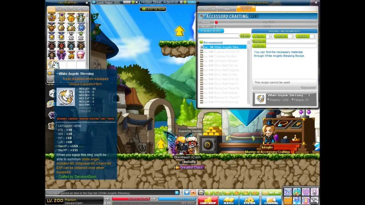 Angelic Blessing Ring Maplestory