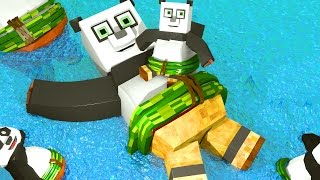 Kung Fu Panda 3 Movie - We Made it to Panda Village! (Minecraft Roleplay)