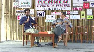 N E Sudheer in conversation with Manu S Pillai @ Kerala Literature Festival
