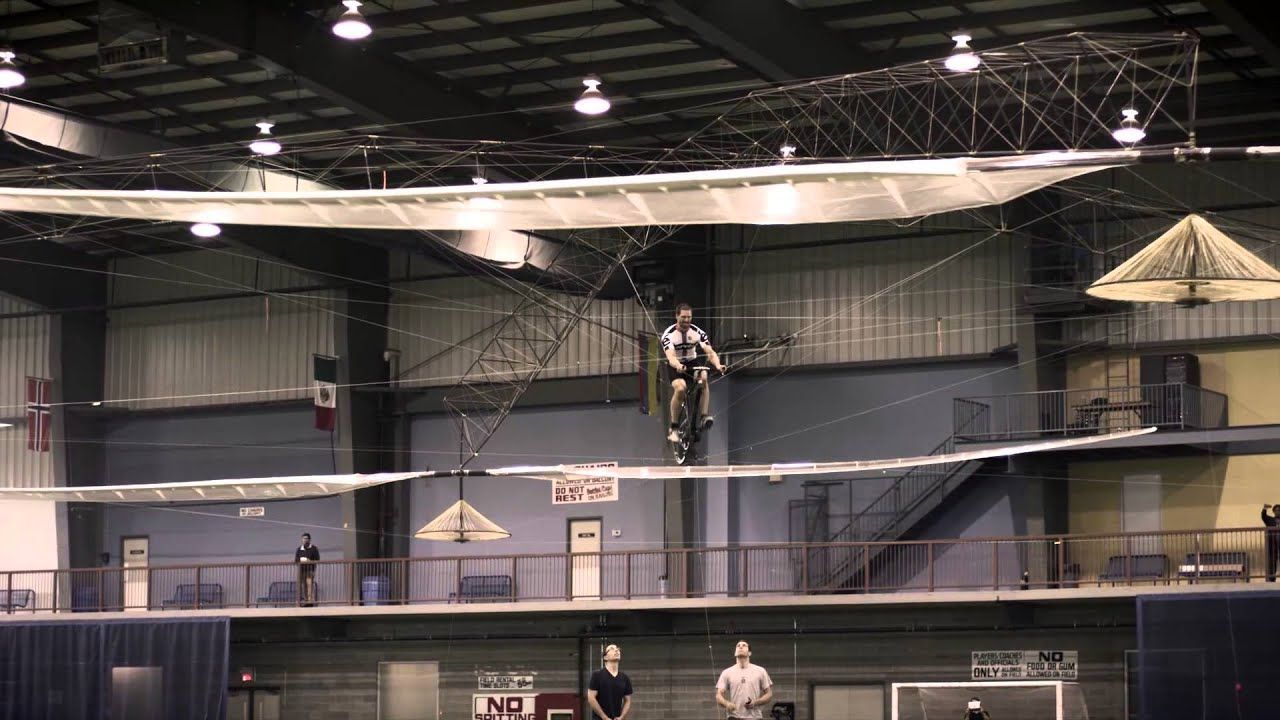 Would You Try The Human Powered Helicopter?