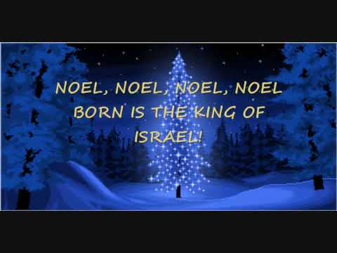 THE FIRST NOEL WITH LYRICS
