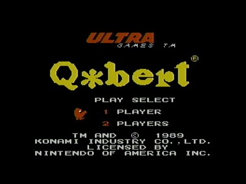 Q*Bert - NES Gameplay