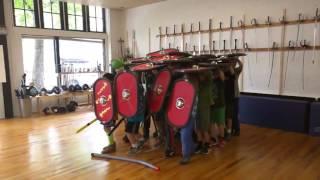 Kids Form Roman Legion at Summer Camp