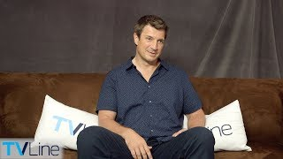 Nathan Fillion on 'The Rookie' vs. 'Castle,' Spoofing 'Firefly' | Comic-Con 2018 | TVLine