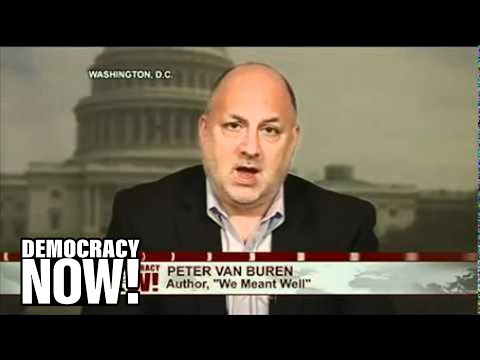State Dept. Seeks Firing of Peter Van Buren, Whistleblower Who Exposed Wasteful Iraq Projects