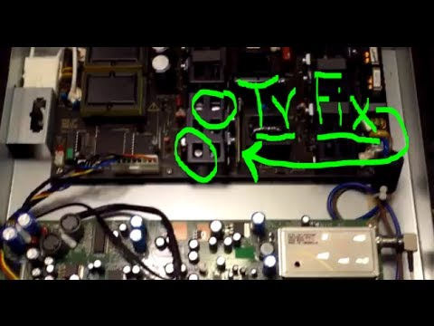 No Picture LCD TV Repair pt2