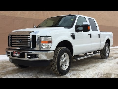 2010 Ford F-250 Super Duty XLT 4WD - Crew Cab. Running Boards. Power Tow Mirrors   HUGE VALUE