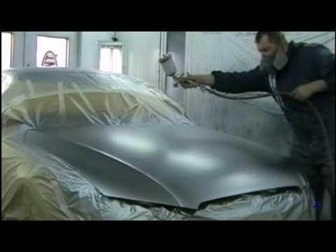 Как покрасить авто серебристым металликом