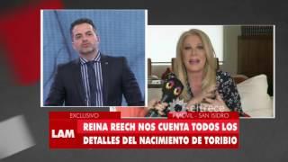 Habla Reina Reech sobre el nacimiento de su nieto Toribio, hijo de Juana Repetto
