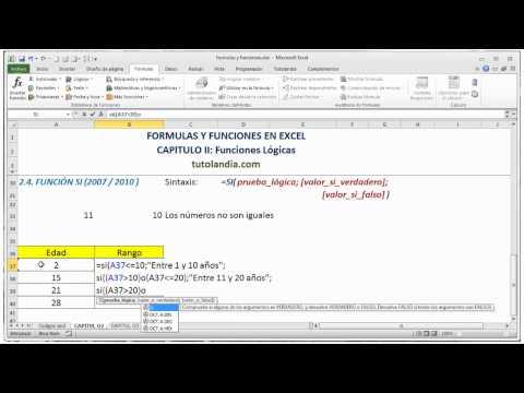 2.4 Función SI: Video Curso Fórmulas y Funciones en Excel