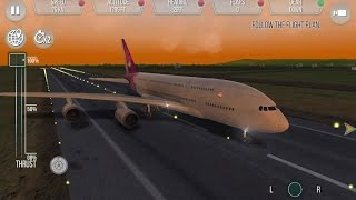 Take Off - The Flight Simulator #3 Jet Airliners and Hawaiian Air Race - Gameplay