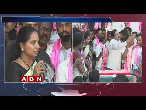 MP Kavitha Participates in NRI TRS UK Cell 8th Anniversary Celebrations at Telangana Bhavan