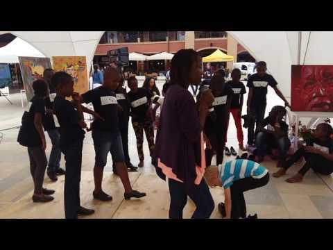 Tap Dance Workshop by Tumshangilieni Mtoto/Shangilia Kenya at The Hub Karen