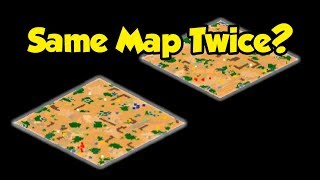Can You Get the Same Map Twice?