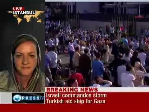 Gaza aid flotilla attacked by Israel - several humanitarian workers killed