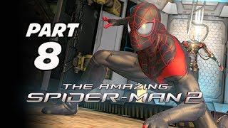The Amazing Spider-Man 2 Walkthrough Part 8 - Ultimate Spider-Man Costume (PS4 1080p Gameplay)