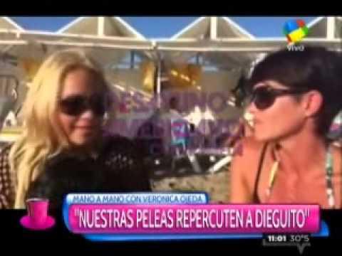 Verónica Ojeda, a solas con Pamela David