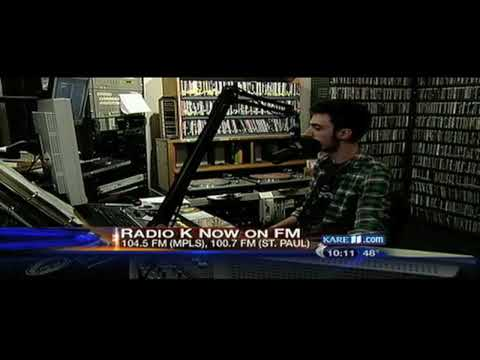 Radio K (KUOM) 2009 FM 24/7 KARE 11 News Report