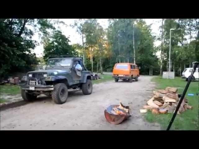 VW T Syncro VS. Jeep Wrangler die zweite