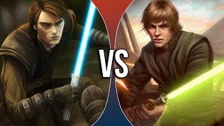Versus Series | Anakin Skywalker vs Luke Skywalker