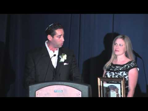 SINAI Schools Dinner 2013 - MICHAEL & RACHEL DUBE Speech